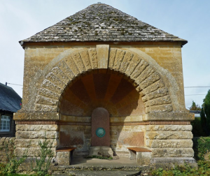 Spelsbury Fountain, memorial to Constantine August Dillon,