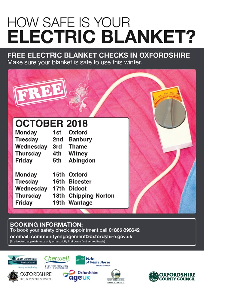 How safe is your electric blanket?